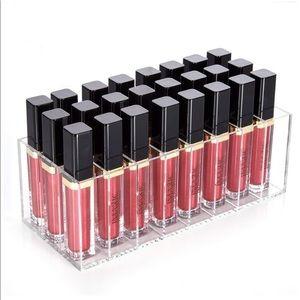 🎉SALE!!! Acrylic lipgloss makeup organizer - 24